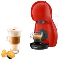 DOLCE GUSTO by De'Longhi Piccolo XS EDG210R Coffee Machine - Red, Red.