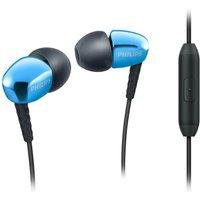 PHILIPS SHE3905 Headphones - Blue, Blue