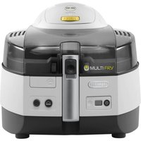 DELONGHI Multifry FH1363 Fryer - White & Black, White