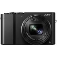 PANASONIC Lumix DMC-TZ100EB-K High Performance Compact Camera - Black, Black