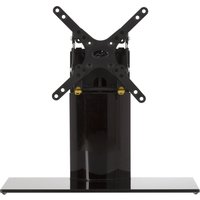 AVF B202BBB TV Stand with Bracket - Black, Black