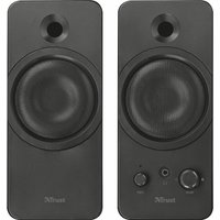 TRUST Zelos 2.0 PC Speakers - Black, Black