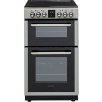 KENWOOD KDC506S19 50 cm Electric Ceramic Cooker - Silver, Silver