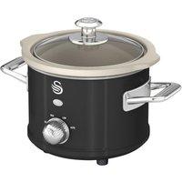 SWAN Retro SF17011 Slow Cooker - Black, Black