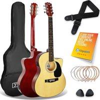 3RD AVENUE Cutaway Electro-Acoustic Guitar Bundle - Natural