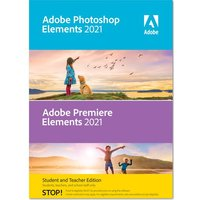 ADOBE Photoshop Elements 2021 & Premiere Elements 2021 - Student & Teacher Edition