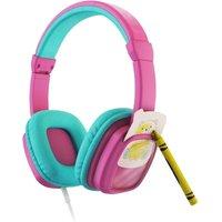 PLANET BUDDIES Colour & Swap Kids Headphones - Pink, Pink