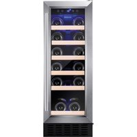 AMICA AWC300SS Wine Cooler - Stainless Steel, Stainless