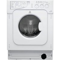 Indesit Iwde146 Integrated Washer Dryer, White
