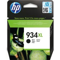HP 934XL Black Ink Cartridge, Black