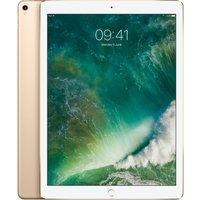 APPLE 12.9 iPad Pro - 256 GB, Gold (2017), Gold