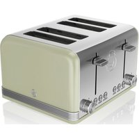 Buy SWAN Retro ST19020GN 4-Slice Toaster - Green, Green - Currys PC World