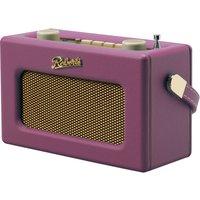 ROBERTS Revival Uno Retro Portable Clock Radio - Pink, Pink