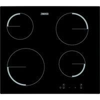 Zanussi Zev6240fba Electric Ceramic Hob - Black, Black