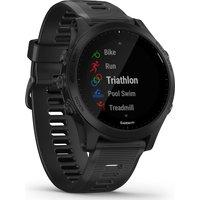 GARMIN Forerunner 945 Running and Triathlon Watch - Black & Slate, Universal, Black