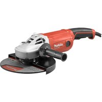 MAKITA MT Series M9001 230 mm Angle Grinder - Red, Red.