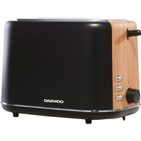 DAEWOO SDA1743 2-Slice Toaster - Black, Black