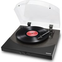 ION Premier LP Belt Drive Bluetooth Turntable - Black, Black