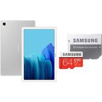 """Samsung Galaxy Tab A7 10.4"""" Tablet & 64GB microSD Memory Card Bundle - 32GB"""