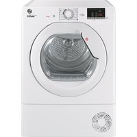 HOOVER H-Dry 300 HLE C10DG WiFi-enabled 10 kg Condenser Tumble Dryer - White, White