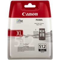 CANON PGI-512 Black Ink Cartridge, Black
