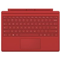 MICROSOFT Surface Pro 4 Typecover - Red, Red