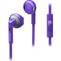 PHILIPS SHE3205PP/00 Headphones - Purple, Purple