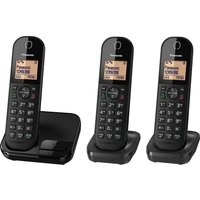 Click to view product details and reviews for Panasonic Kx Tgc413eb Cordless Phone Triple Handsets.
