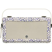 Click to view product details and reviews for Vq By Emma Bridgewater Vq Hepburn Mk Ii Portable Dabﱓ Bluetooth Clock Radio Blue.