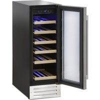 MONTPELLIER WS19SDX Wine Cooler - Stainless Steel, Stainless Steel