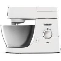 KENWOOD Chef Premier KVC3100W Stand Mixer - White, White