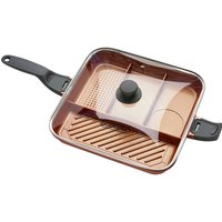 High Street Tv Quadrapan Professional 4-in-1 32 Cm Non-stick Frying Pan - Copper, Salmon