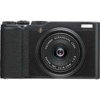 FUJIFILM XF10 High Performance Compact Camera - Black, Black