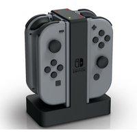 POWERA Nintendo Switch Joy-Con Charging Station - Black & Grey, Black