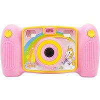 EASYPIX Kiddypix Mystery Compact Camera - Pink & Yellow, Pink