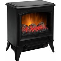 DIMPLEX CAS20E Electric Fire Stove - Matte Black, Black