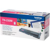 BROTHER TN230M Magenta Toner Cartridge, Magenta