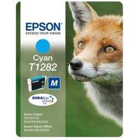 EPSON Fox T1282 Cyan Ink Cartridge, Cyan