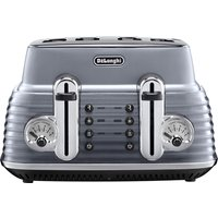 Buy DELONGHI CTZ4003GY Scultura Delonghi Toaster - Gun Metal, Brown - Currys PC World