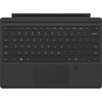 MICROSOFT Surface Pro 4 Type Cover with Finger Print ID- Black, Black