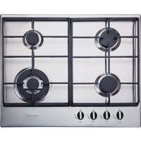 BAUMATIC BHG625SS Gas Hob - Stainless Steel, Stainless Steel