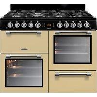 LEISURE Cookmaster CK100G232C 100 cm Gas Range Cooker - Cream and Chrome, Cream