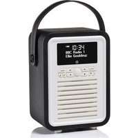 Click to view product details and reviews for Viewquest Retro Mini Vq Mini Bk Portable Bluetooth Dab Radio Black Black.