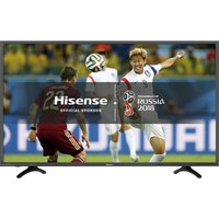 49  HISENSE H49N5500UK  Smart 4K Ultra HD HDR LED TV, Silver