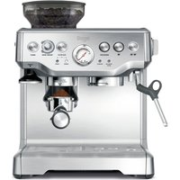SAGE Barista Express BES875UK Bean to Cup Coffee Machine - Silver, Silver