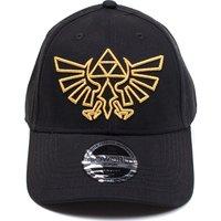 Nintendo Zelda Gold Logo Cap - Black, Gold