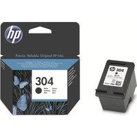 HP 304 Black Ink Cartridge, Black