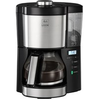 MELITTA Look V Timer Filter Coffee Machine - Black and Stainless Steel, Stainless Steel