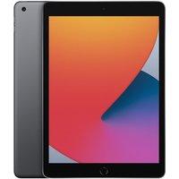 "APPLE 10.2"" iPad (2020) - 128 GB, Space Grey, Grey"
