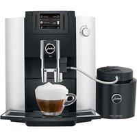 JURA E6 15342 Bean to Cup Coffee Machine - Platinum